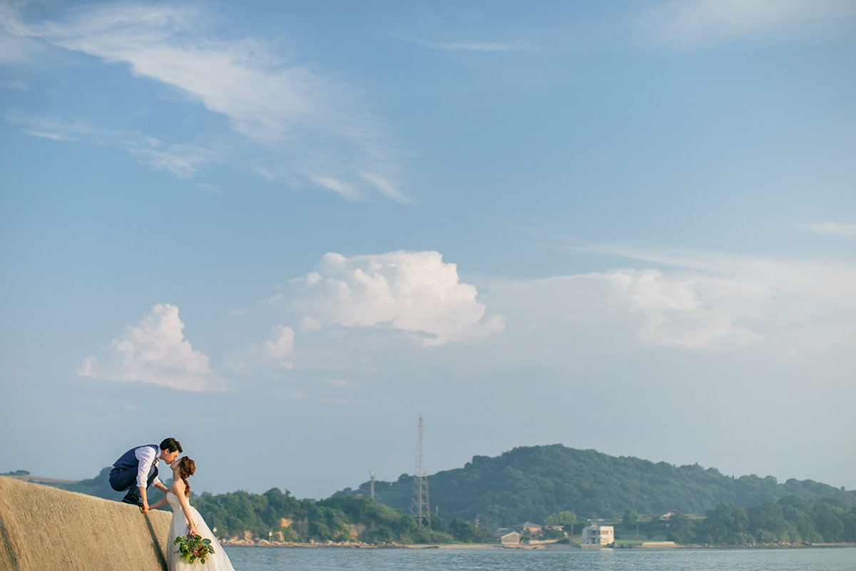Ushimado Beach[Okayama/Japan]